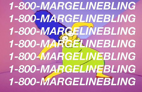 marge hotline bling