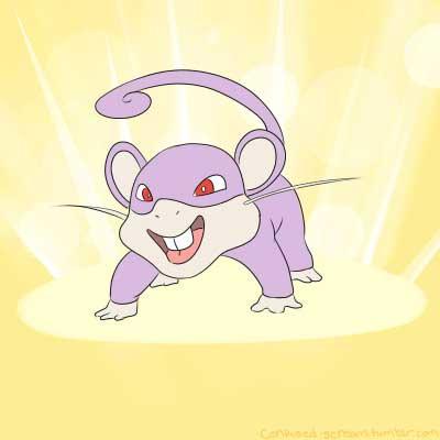 pokemon go spark funny rattata boi