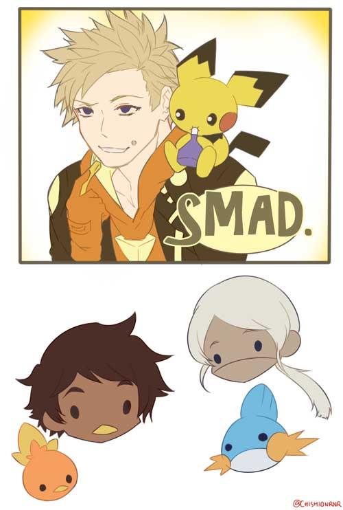 pokemon go spark funny smad