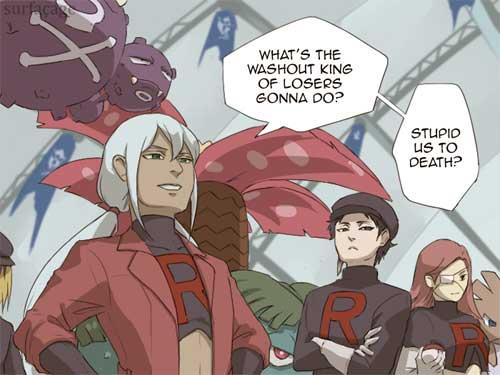 pokemon go spark team rocket surfacage
