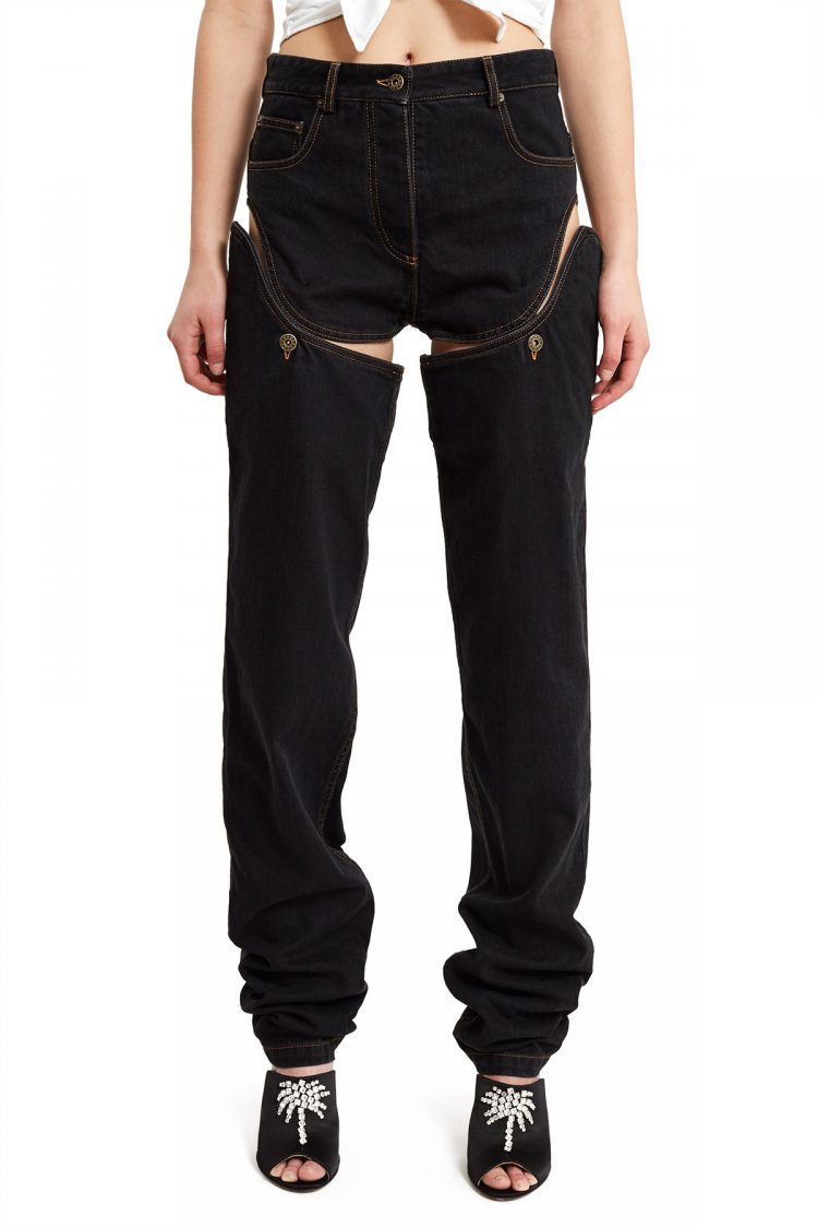 YProject Detachable Side Jeans