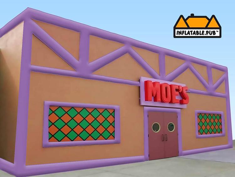 Inflatable Moe's Tavern