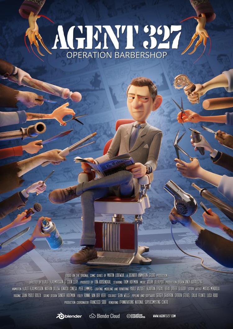 Agent 327 Operation Barbershop
