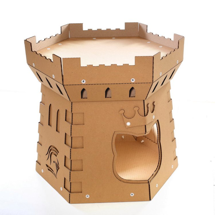 Cat Tower Cardboard Cat House