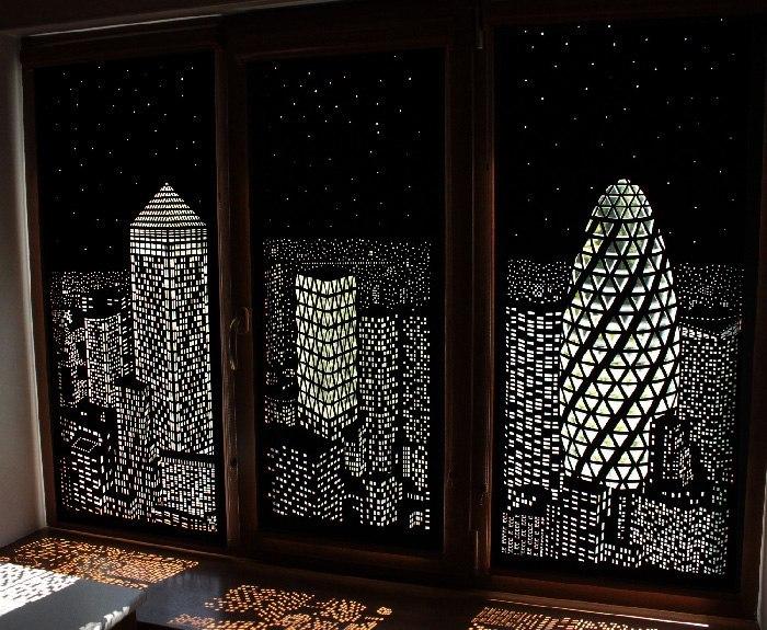 London HoleRoll Window Covering