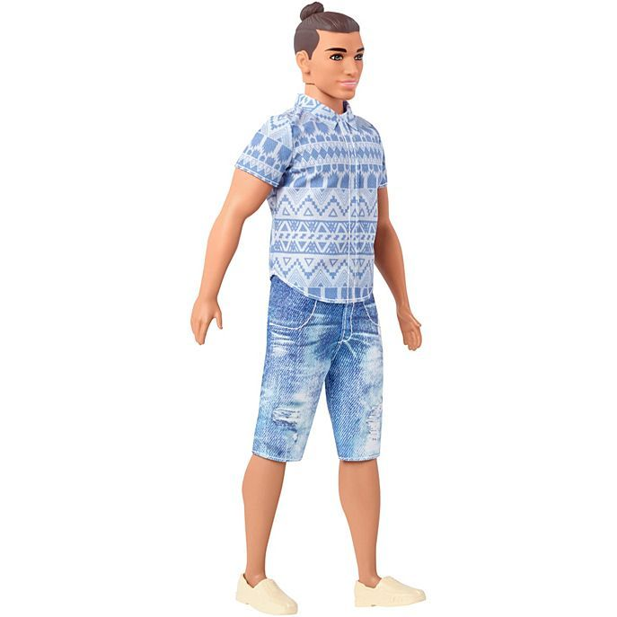 A Ken Doll With a Man-Bun and Distressed Jeans Ushers In ...
